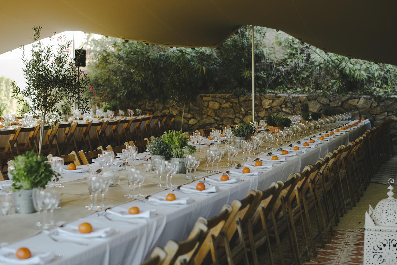 wedding food Spain